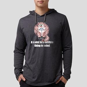 cat diet drk Mens Hooded Shirt