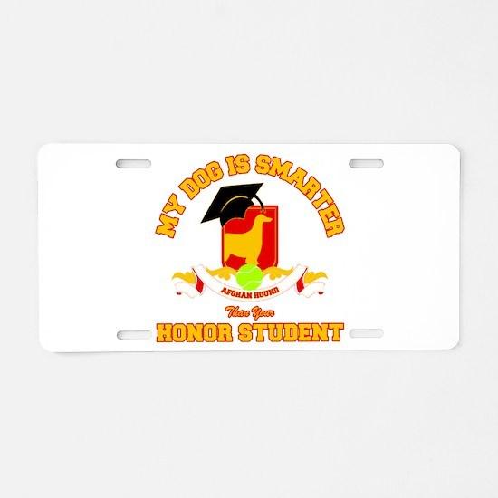 Afghan Aluminum License Plate