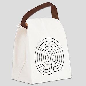 Labrynth Canvas Lunch Bag