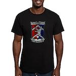 USS BREWTON Men's Fitted T-Shirt (dark)