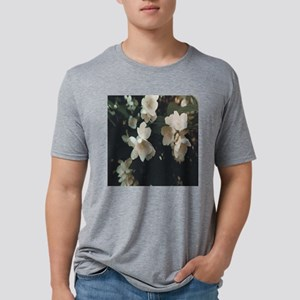 Mock Orange Blooms Mens Tri-blend T-Shirt
