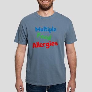 Multiple Food Allergies Mens Comfort Colors Shirt