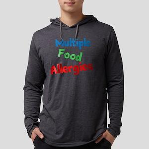 Multiple Food Allergies Mens Hooded Shirt