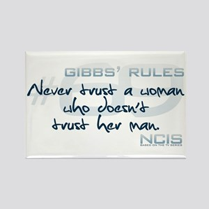 Gibbs' Rules #69 - Never Trust a Woman... Rectangl