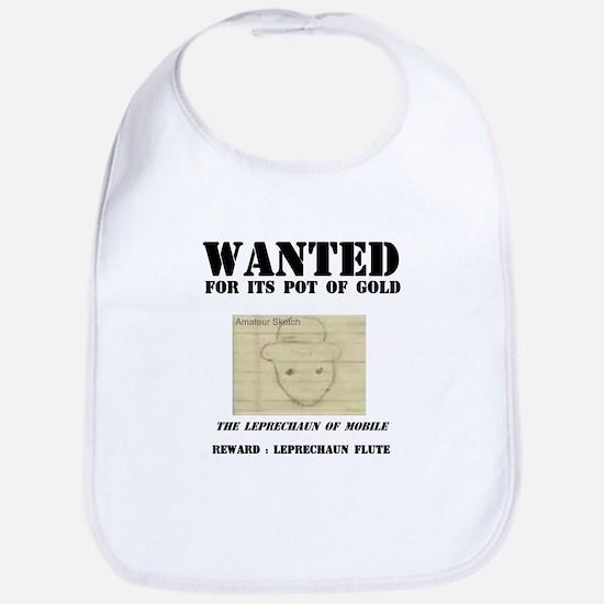 Wanted: Leprechaun Bib