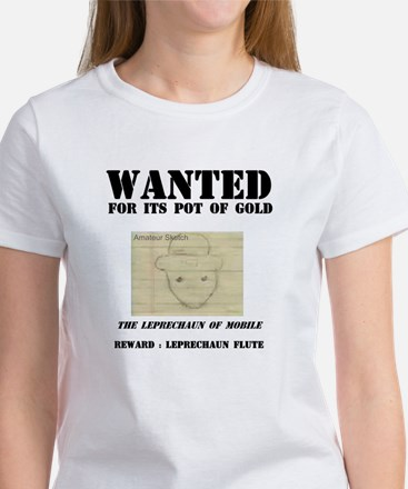 Wanted: Leprechaun Women's T-Shirt