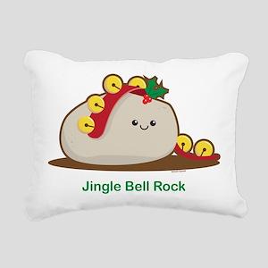 Jingle Bell Rock Rectangular Canvas Pillow