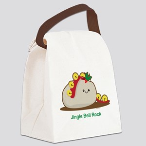 Jingle Bell Rock Canvas Lunch Bag