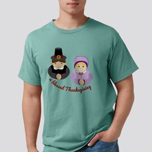 Blessed Thanksgiving Mens Comfort Colors Shirt