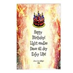 Celebrate Happy Birthday Postcards (Package of 8)