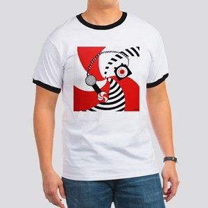 Hypnotize You Baby Peppermint Ringer T