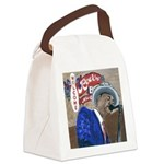 BluesSingerCPtile Canvas Lunch Bag