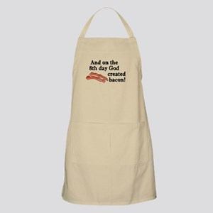 8th Day God Made Bacon Apron