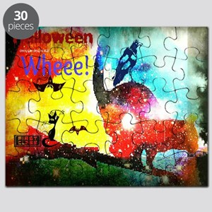 Halloween Fly By1 Puzzle