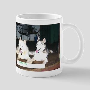 Husky Love Mug