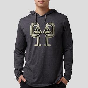 illuminati t-shirt Mens Hooded Shirt
