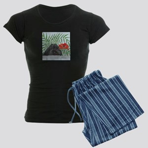 """""""Portie"""" Women's Dark Pajamas"""