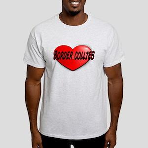 LOVE BORDER COLLIES Light T-Shirt