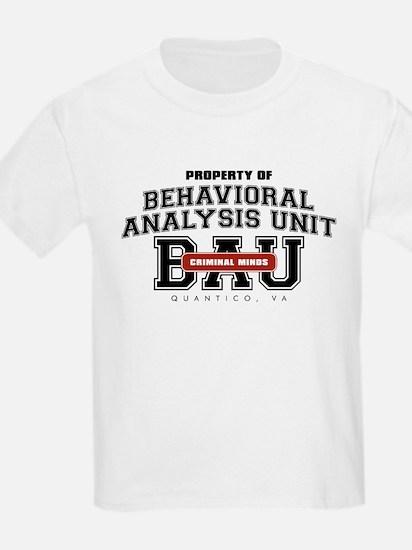 Property of Behavioral Analysis Unit - BAU T-Shirt