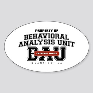 Property of Behavioral Analysis Unit - BAU Oval St