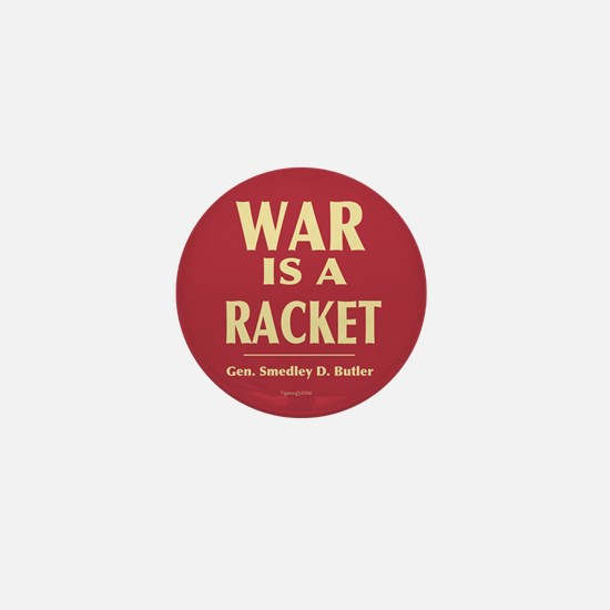 War Is A Racket Mini Button