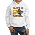 Ilovetoscroll Hooded Sweatshirt