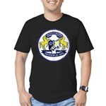 USS BRUMBY Men's Fitted T-Shirt (dark)