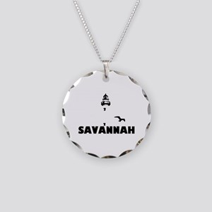 Savannah Beach GA - Lighthouse Design. Necklace Ci