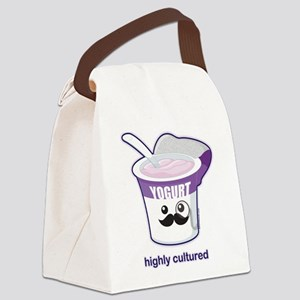 Highly Cultured Canvas Lunch Bag