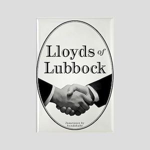 Lloyds of Lubbock - Rectangle Magnet