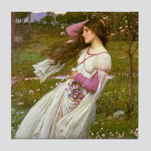 Windswept by Waterhouse Tile Coaster