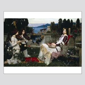 St Cecilia by William Waterhouse Small Poster
