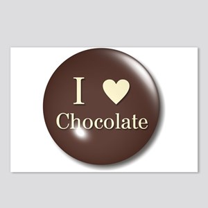 I Love Chocolate Postcards (Package of 8)