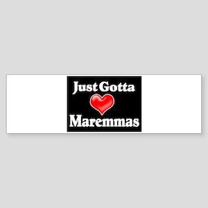 Love Maremma Sticker (Bumper)