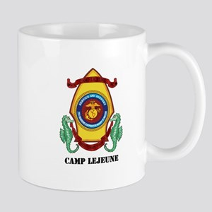Marine Corps Base Camp Lejeune with Text Mug