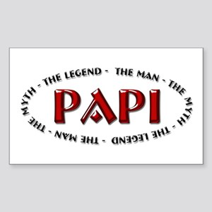 Papi - The legend Rectangle Sticker