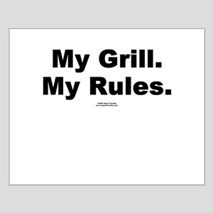 My Grill. My Rules. -  Small Poster