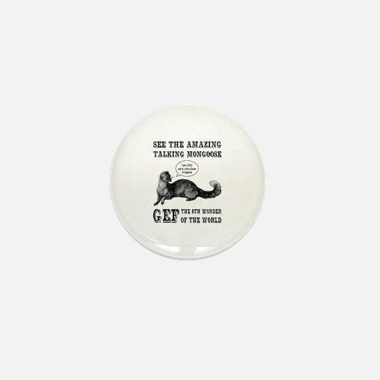 Gef The Talking Mongoose Mini Button
