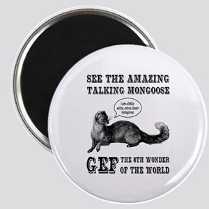 Gef The Talking Mongoose Magnets