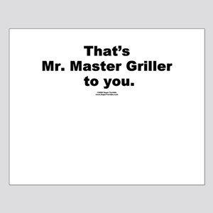 Mr. Master Griller -  Small Poster