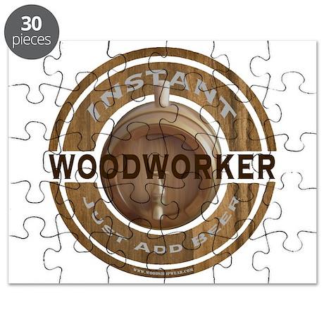 Instant Woodworker Beer Puzzle