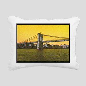 Retro Brooklyn Bridge Majestic NYC Rectangular Can