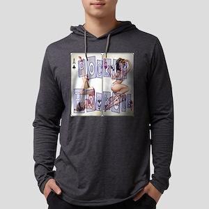 PocketRockets2Wt Mens Hooded Shirt