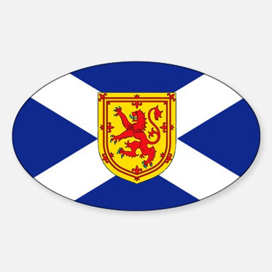 St. Andrew's Cross Royal Decal