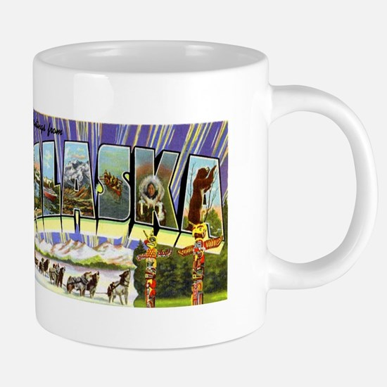 Alaska Greetings Mugs