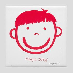 Magic Joey (red) Tile Coaster