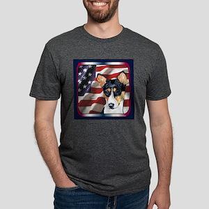 2BJ01TILE Mens Tri-blend T-Shirt