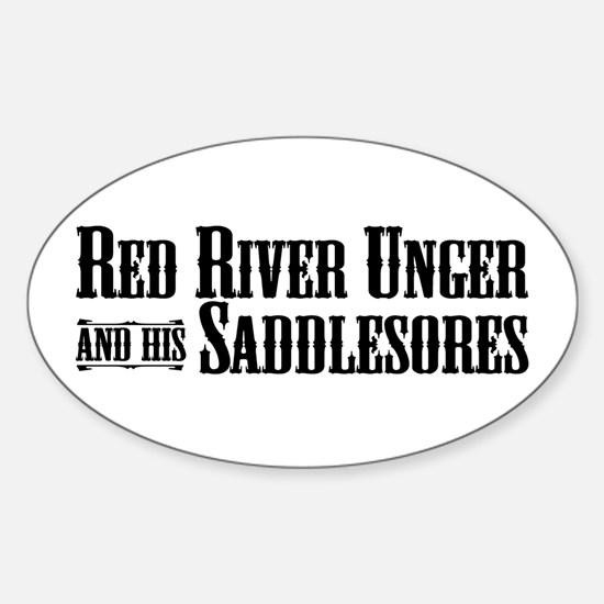 Red River Unger - Oval Decal