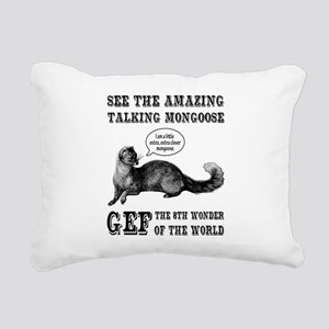 Gef The Talking Mongoose Rectangular Canvas Pillow