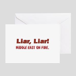 Liar, Liar Greeting Cards (Pk of 10)